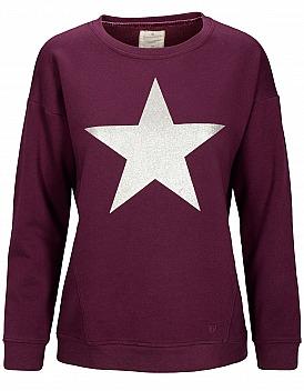 Basefield: Sweatshirt Stern - Velvet Plum