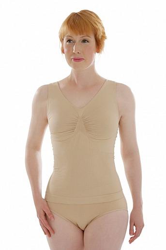 comazo: Unterhemd figurformend - Figurformendes Unterhemd mit Achselträgern