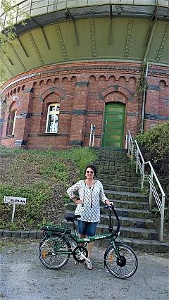 A.T.U - E-Bikes: Annette Maria mit Ihrem Wayscral E-Bike