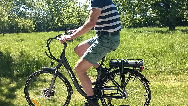 A.T.U - E-Bikes: Axel hat das Wayscral E-Bikes City 528 zum Testen bekommen