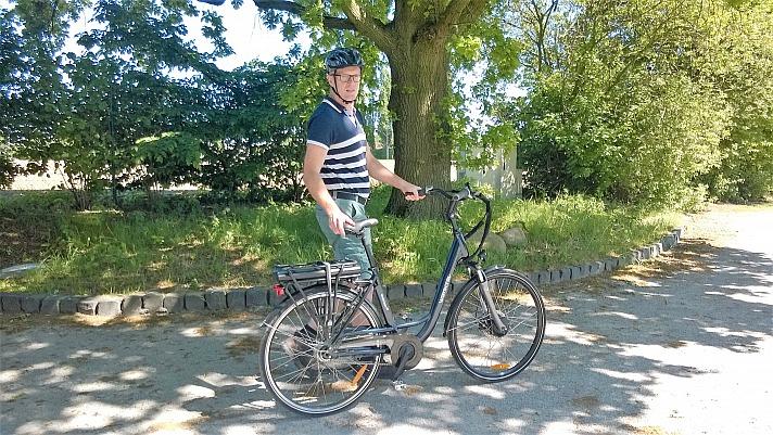 A.T.U - E-Bikes: Axel ist ebenfalls schon abfahrbereit