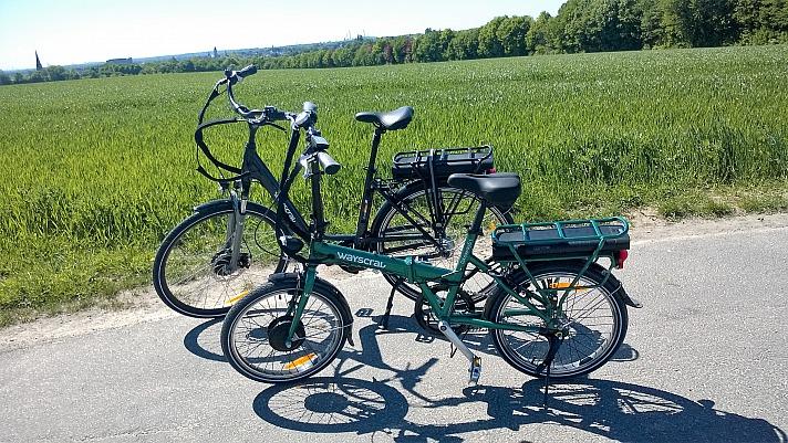 A.T.U - E-Bikes: das sind unsere beiden Wayscral E-Bikes City 528 und Flexi 215