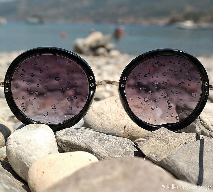 Wet Sunglasses, Evdilos Beach - Ikaria Island