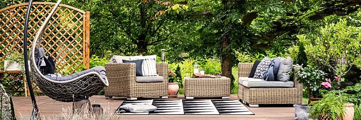 Wohlfühloase Garten ? die perfekte Sitzecke für laue Sommerabende