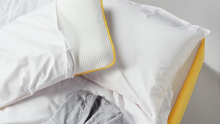 EVE: Die Perkal-Bettwäsche von eve ist aus 100 Prozent Baumwolle und sehr komfortabel