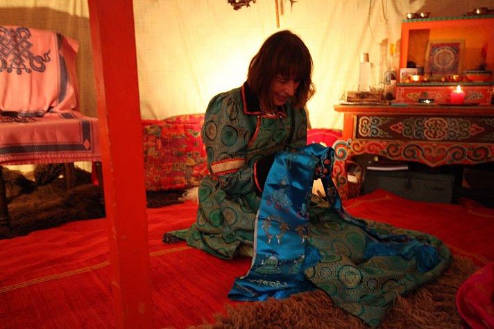 Regina Hruska Licht aus der Jurte