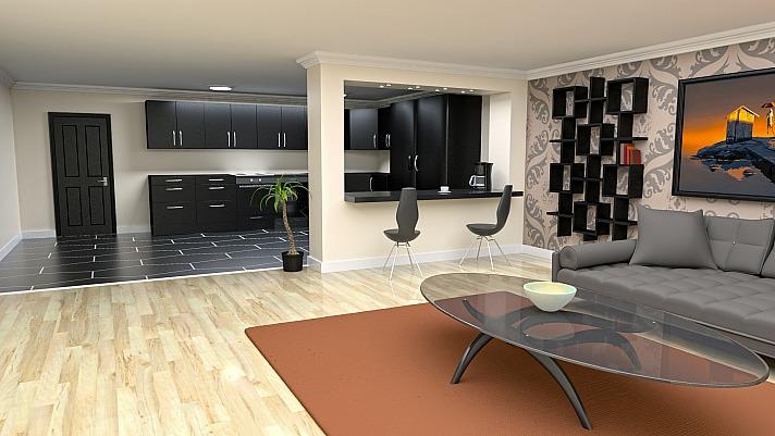 LED Einbaustrahler - zahlreiche Möglichkeiten für ein modernes Zuhause - Architektur innenraum zimmer modern boden design