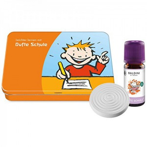 Baldini Dufte Schule Set mit 10 ml Duftmischung und Duftstein inkl. Geschenkdose