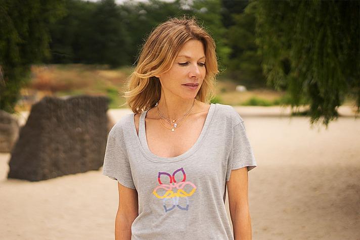 Ursula Karven: Divine Flower T-Shirt