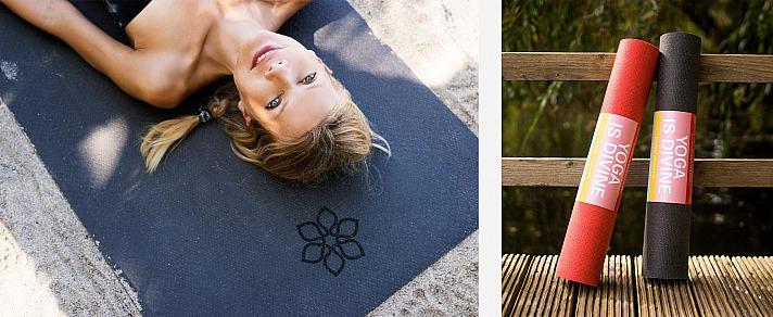 Ursula Karven: Divine Flower Yogamatten