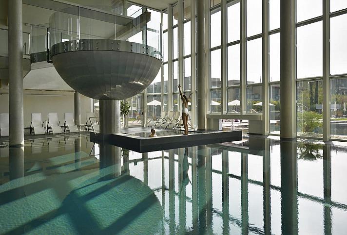 Aqualux Hotel Spa: Whirlpool und Türkisches Bad/Hamam runden das Angebot ab