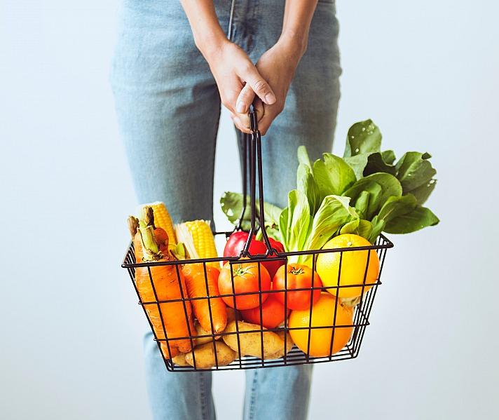 Einkaufen mit dem Online-Lieferservice