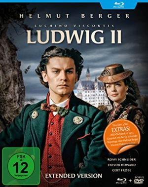 Ludwig II. - Directors Cut (Filmjuwelen) (+ Bonus-DVD) [Blu-ray]