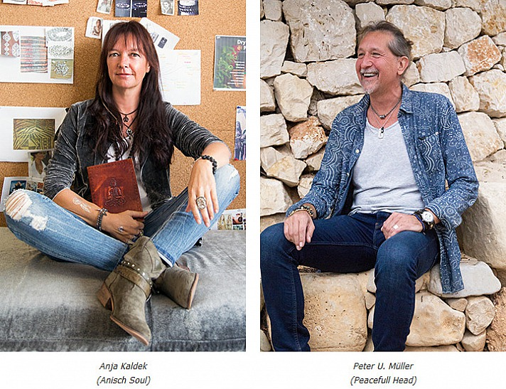 Anja Kaldek und Peter U. Müller