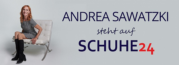 schuh24.de Andrea Sawatzki