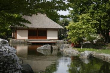 Das Teehaus im Japanischen Garten | Deutschland » Hamburg | florian paetzel / pixelio