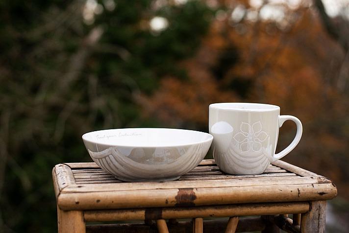Ursula Karven: DIVINE FLOWER CUP & BOWL | COLOUR: WINTER GLOW