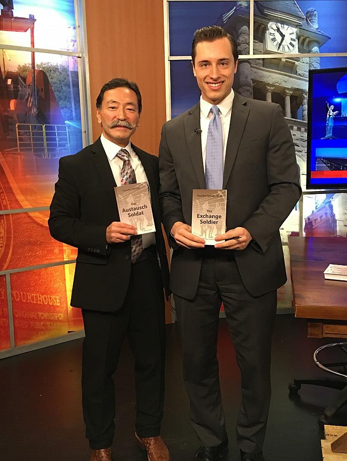 Yusuke Yahagi - mit seinem Buch Der Austausch Soldat