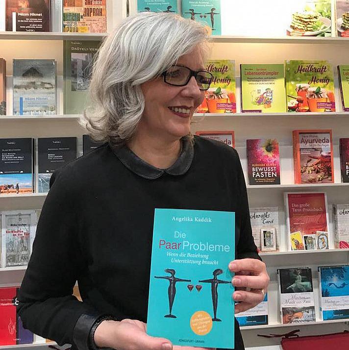 Angelika Kaddik stellt ihr neues Buch vor