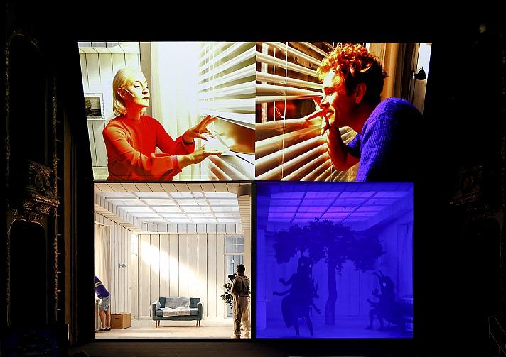Die Parallelwelt Theater Dortmund: Merle Wasmuth, Owen Read, Benjamin Hartlöhner (Kamera)