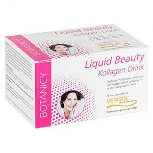 LIQUID BEAUTY Trink-Kollagen mit Verisol - Schönheit zum Trinken, mit Kollagen-Peptiden, bessere Elastizität der Haut und Hautstruktur am ganzen Körper, auch gegen Cellulite, 15 Trinkampullen