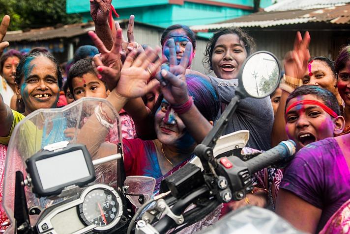 Lea Rieck Got2Go: India, India, Durga Puja Festival