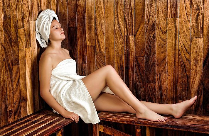 Gesundheit und Wohlbefinden - beim Saunen kann man beides prima verbinden