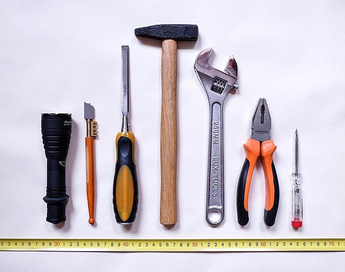 Diese Werkzeuge dürfen zu Hause nicht fehlen