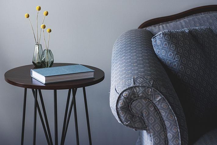 Polstermöbel mit Stoffbezug fühlen sich besser an