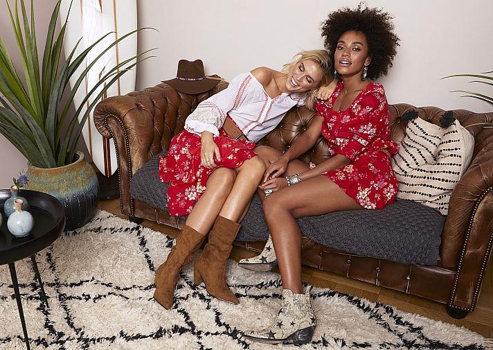 Odd Molly: beliebt sind Boho-Kleider, die optisch an die Zeiten von Love & Peace erinnern