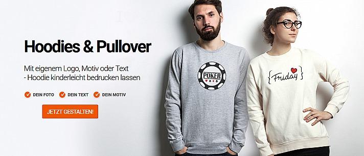 Sweatshirt selbst gestalten - schnell & einfach