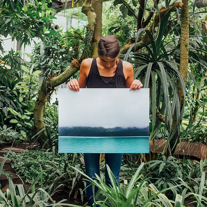 Kreative Wanddekoration mit Leinwandbildern