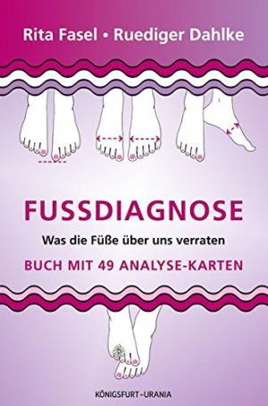 Fußdiagnose Set mit Buch und Karten (Was die Füße über uns verraten, Fußanalyse)