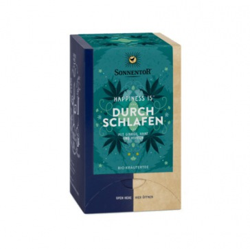 sonnentor.com: Durchschlafen Tee Bio Doppelkammerbeutel