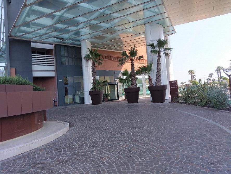 Almar Jesolo Resort&Spa: beeindruckender und wunderbar mediterran gestalteter Eingangsbereich