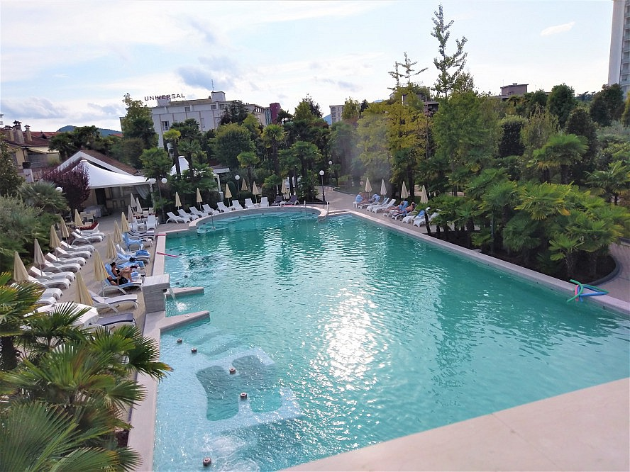 Abano Grand Hotel: SCHWIMMBAD SOLEIL
