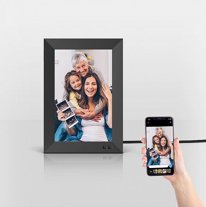 Die Nixplay-App: Ihre Lieblingserinnerungen vom Smartphone direkt auf den Rahmen
