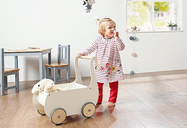 Pinolino Kinderträume: Puppenwagen Mette