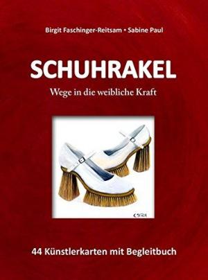 Schuhrakel 44 Künstlerkarten mit Begleitbuch
