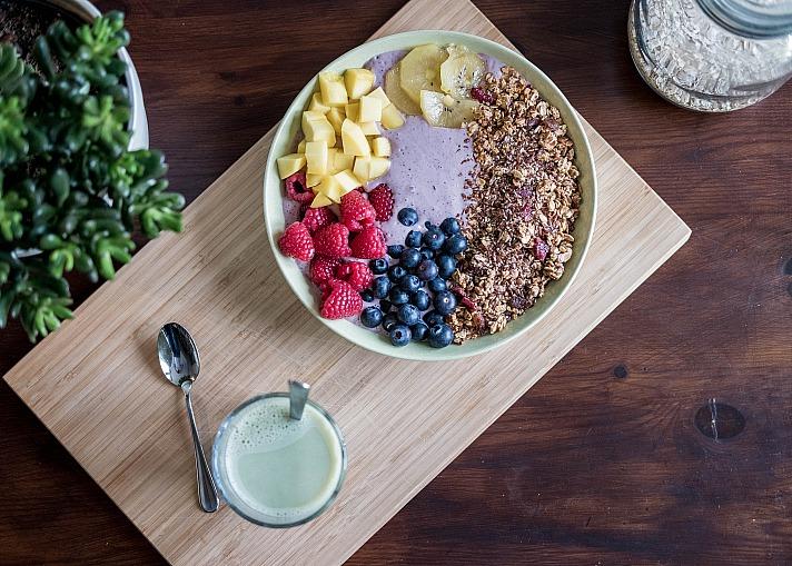 Gesunde Ernährung fördert den gesunden Geist - Man ist, was man isst