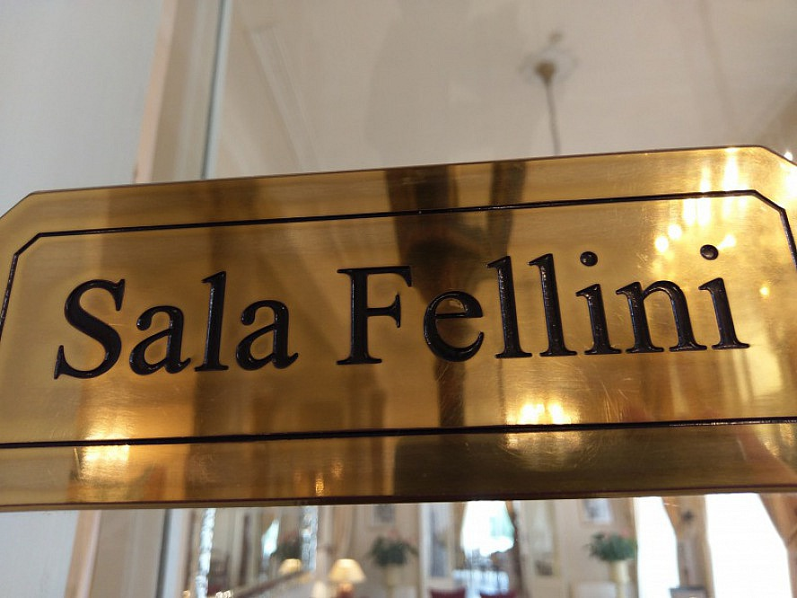 Grand Hotel Rimini: Das Restaurant trägt den Namen Sala Fellini