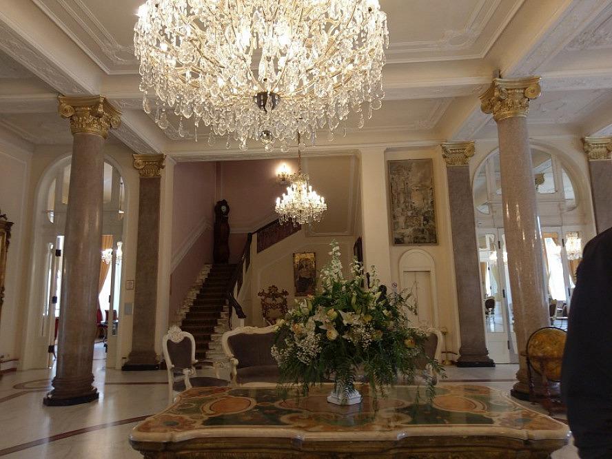 Grand Hotel Rimini: unaufdringlich mondäne Grandhotel Stimmung