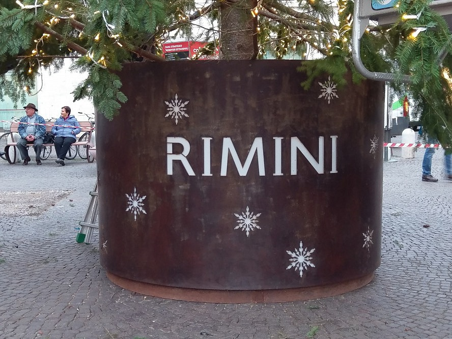 Grand Hotel Rimini: Weihnachtsdekorationen in Rimini