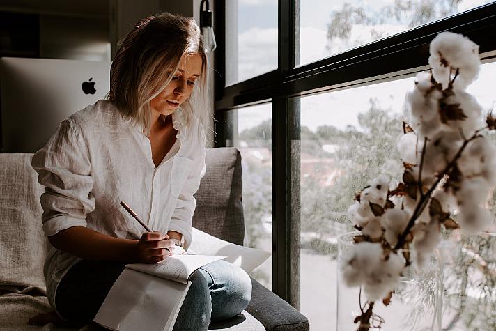 Deine Self Care-Zeit beim Schreiben
