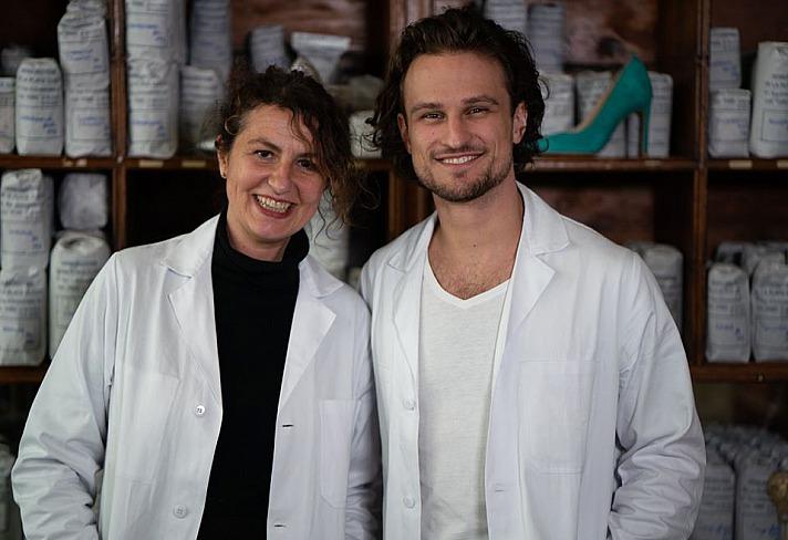 Die Mission von MAISON BAUM  Der junge deutsche Unternehmer Christof Baum und Sophie Tréhoret