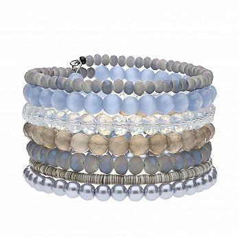 langani: Armband Dali - hellblau