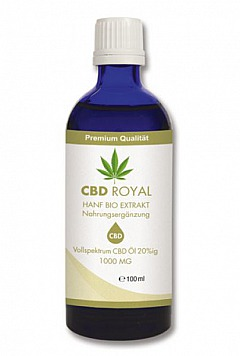 CBD-Öl: CBD ROYAL