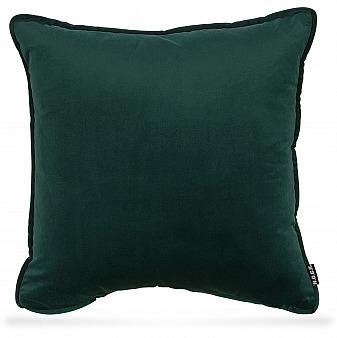 H.O.C.K. Nobile Samt Kissen 50x50cm dunkel grün