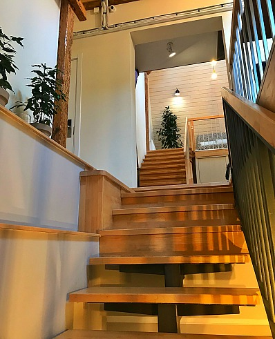 Individuell gestaltete Holztreppen
