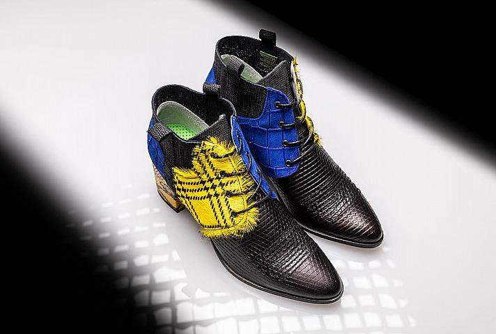 Exclusive Schuhe von Pomp - endlich wieder elegante und ideenreiche Schuhe für Frauen und Männer